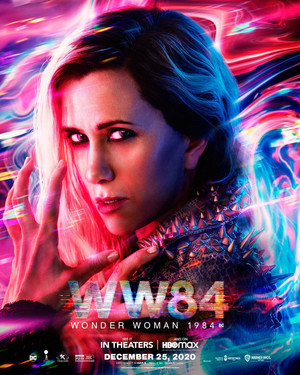 Wonder Woman 1984 - Character Poster - Kristen Wiig as Barbara Minerva