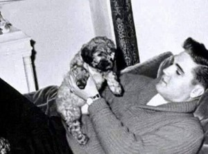 Elvis And His Puppy