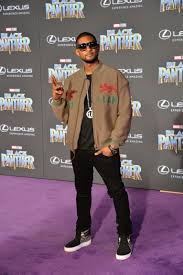 usher 2018 disney Film Premiere Of Black pantera, panther