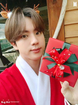ARMY! Happy Holidays!! 🎄🎁 | JIN