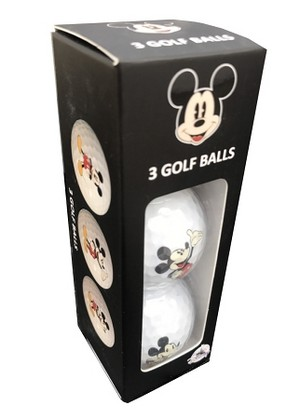 A Set Of Mickey Mouse Golf Balls