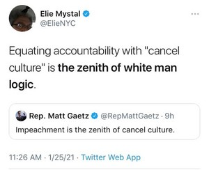 Accountability ≠ cancella Culture