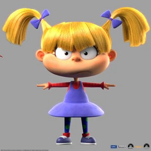 Angelica Pickles CGI Model Production Art 2021