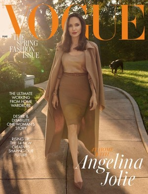 Angelina Jolie ~ Vogue UK ~ February 2021