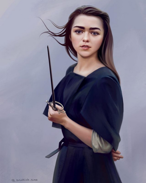 Arya Stark Drawing