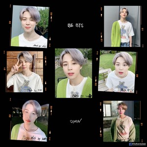 BE BTS | PHOTOS BY BTS | JIMIN