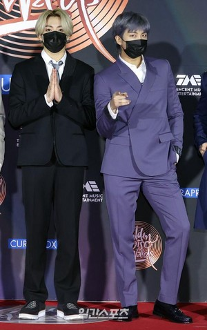 Bangtan Boys @ 35th GDC AWARDS RED CARPET | RM AND JK