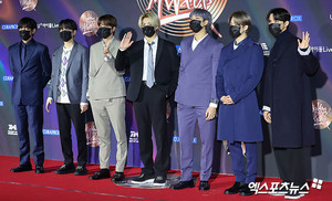 Bangtan Boys @ 35th GDC AWARDS RED CARPET