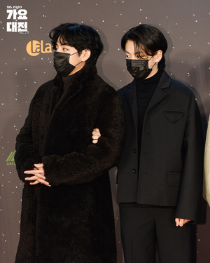 BTS V AND JK @ 2020 SBS GAYO DAEJEON IN DAEGU