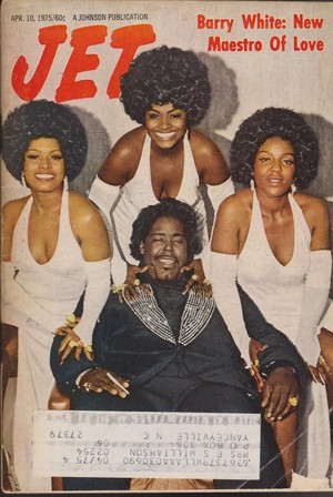 Barry White And Love Unlimited On The Cover Of Jet