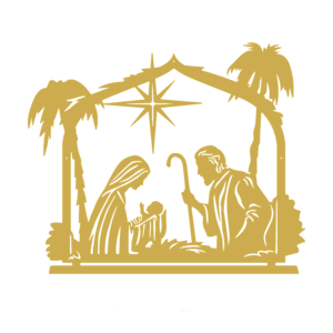 Birth of Jesus (Gold)