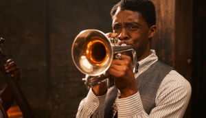 Chadwick Boseman as Levee in Ma Rainey's Black Bottom