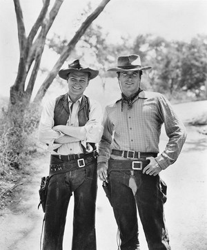 Clint and Eric || Rawhide premiered January 9, 1959 and ran for 8 seasons