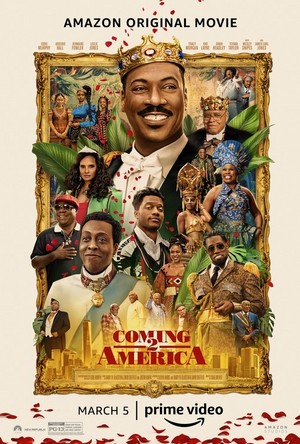 Coming 2 America || Poster