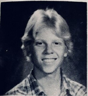 Dexter Holland [High School Yearbook]