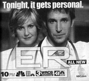 ER TV Guide Ad (2001)