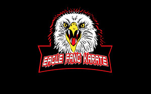 Eagle Fang Karate - Logo wallpaper