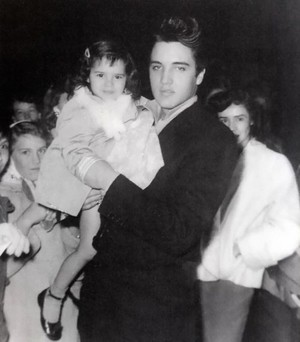 Elvis With A Young Fan
