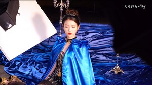 李知恩 Celebrity MV Behind Flim