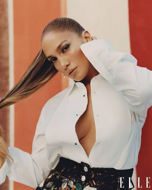 Jennifer Lopez for Elle [February 2021]