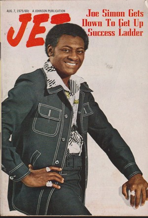 Joe Simon On The Cover Of Jet