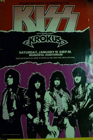 KISS ~Nashville, Tennessee...January 19, 1985 (Animalize World Tour)