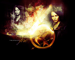 Katniss Everdeen wallpaper - I'm Gonna Heat It Up
