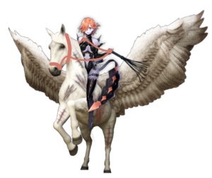 Kronya: The Beautiful, but Cruelly Ruthless Skilled Assassin/Pegasus Rider