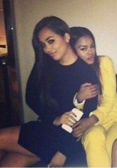 Lauren London and Teyana Taylor