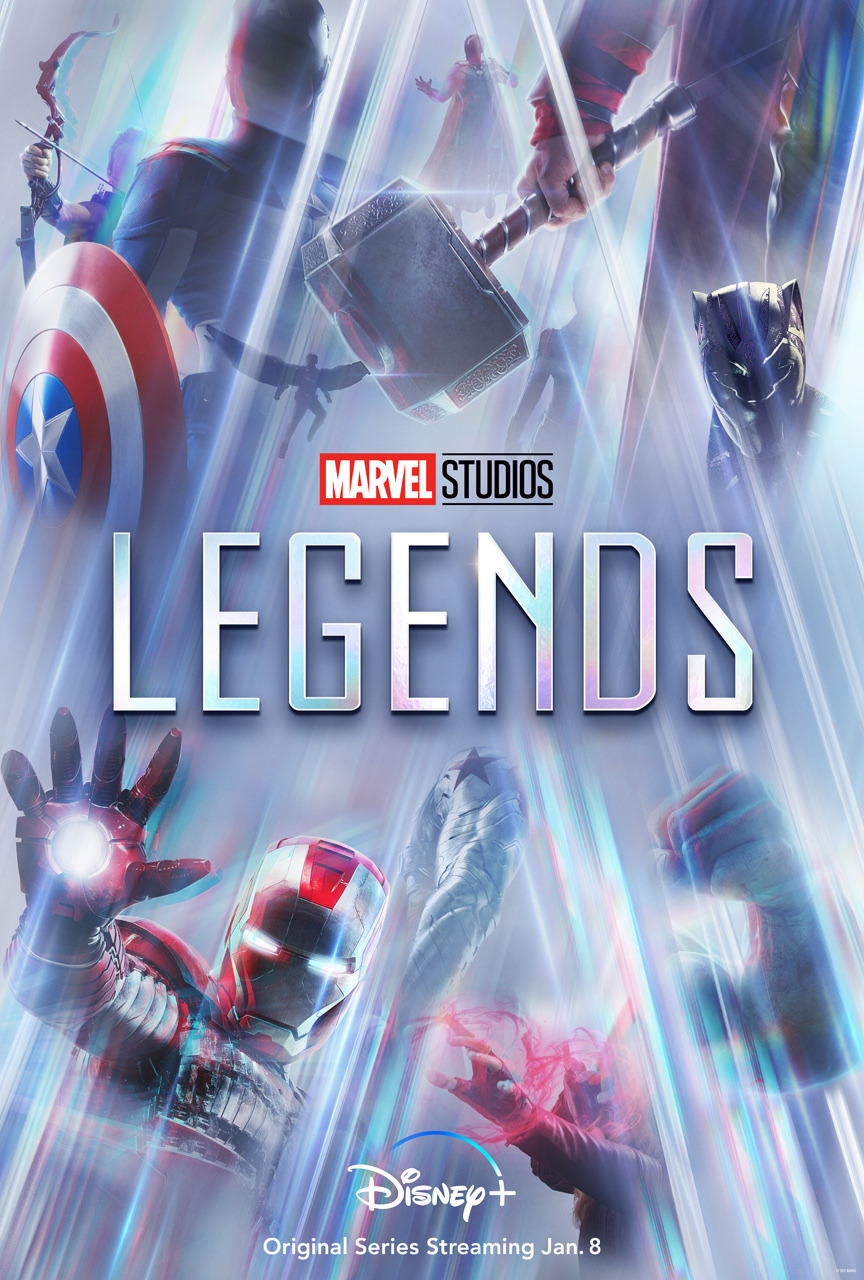 Marvel Studios: Legends || disney Plus || Promotional Poster