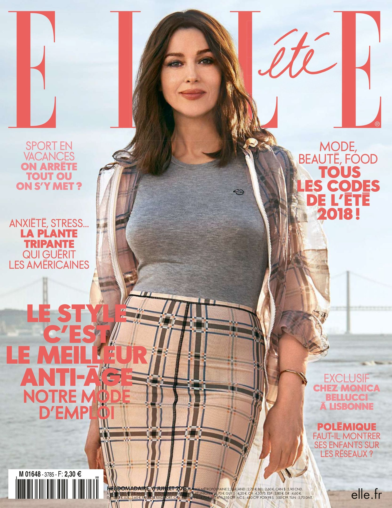 Monica Bellucci for Elle France [July 2018]