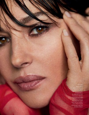 Monica Bellucci for Elle Italy [November 2019]