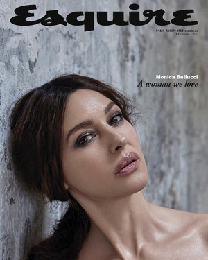 Monica Bellucci for Esquire Spain [August 2018]