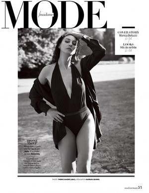 Monica Bellucci for Madame Figaro [July 2019]