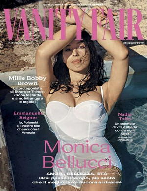 Monica Bellucci for Vanity Fair Italy [August 2019]