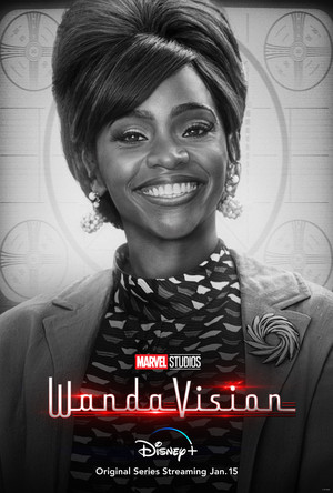 Monica || WandaVision || Character Poster || Welcome to the neighborhood 🏠