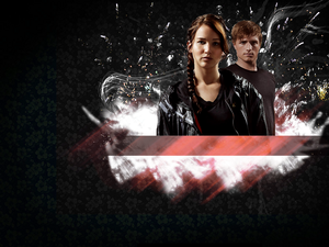 Peeta/Katniss Wallpaper - District Partners