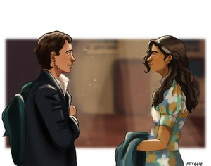 Peter/MJ Fanart - I Think You're Pretty Too