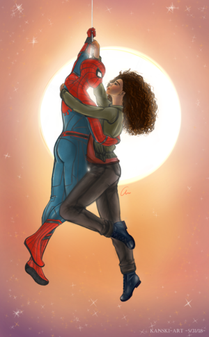 Peter/MJ Fanart - Rewrite The Stars