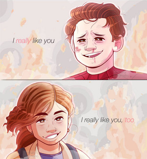 Peter/MJ Fanart
