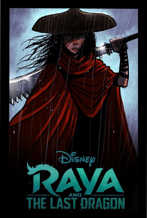 Raya and The Last Dragon Early Concept Art por John Ripa