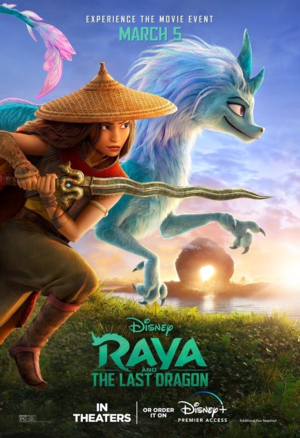 Raya and the Last Dragon (2021) Poster