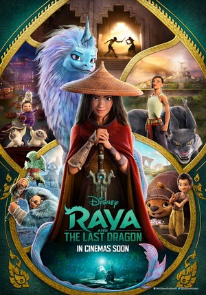 Raya and the Last Dragon Malaysian Poster