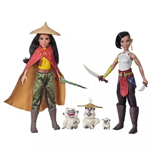 Raya and the Last Dragon - Raya, Namaari and Ongis Figure Pack
