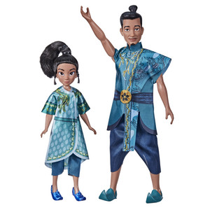 Raya and the Last Dragon - Young Raya and Chief Benja Dolls with Clothes