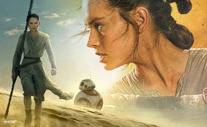 Rey & BB8 wallpaper