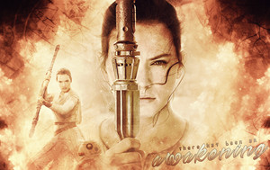 Rey wallpaper - An Awakening