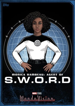 S.W.O.R.D and Monica Rambeau Topp Card