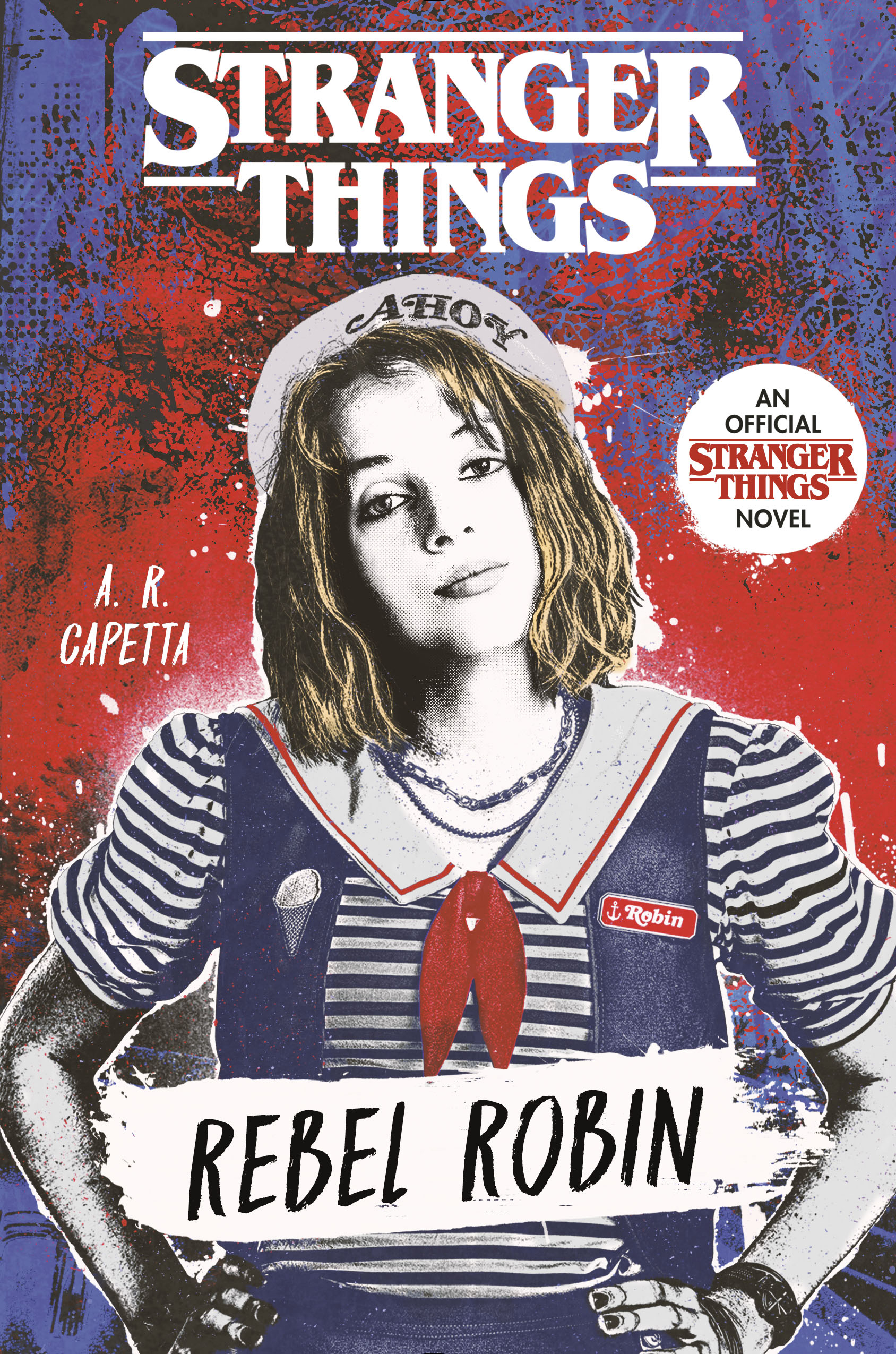 Stranger Things: Rebel Robin - Book Cover