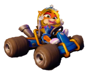 Sweetheart Coco Bandicoot hair Princess..